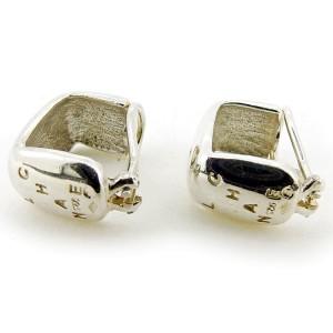 Chanel 925 Sterling Silver Earrings