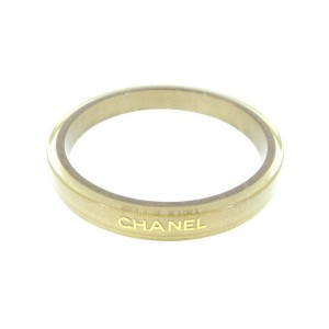 Chanel Gold Tone Hardware Bangle Bracelet