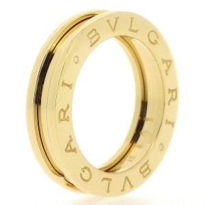 Bulgari B.zero1 18K Yellow Gold Ring Size 5.25