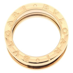 Bulgari B.zero1 18K Rose Gold Ring Size 4