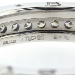 Bulgari B.zero1 18K White Gold Diamond Ring Size 8