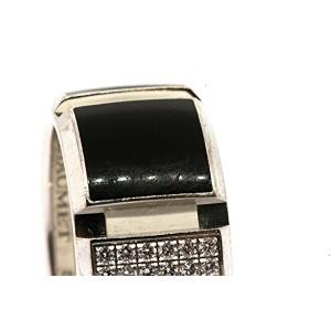Chaumet Class One 18k White Gold Diamond Black & White size 52 US 6