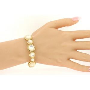 Ippolita Lollipop 18K Yellow Gold Mother Of Pearl Bracelet