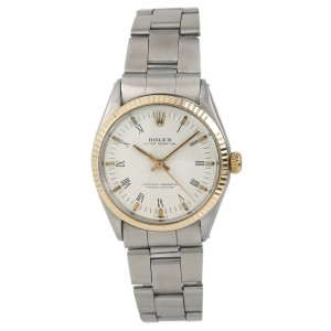 Rolex Oyster Perpetual 1002 Vintage 34mm Mens Watch