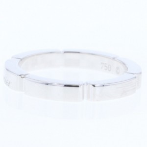 Cartier Panthere Ring 18K White Gold Size 4