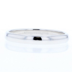 Tiffany & Co. PT950 Platinum Stacking Ring Size 9