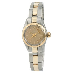 Rolex Oyster Perpetual 6619 Vintage 25mm Womens Watch