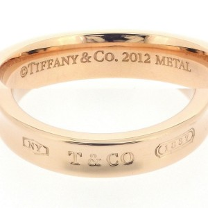 Tiffany & Co. 1837  Rubedo Metal Ring Size 5.75
