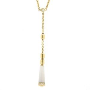 Piaget 18K Yellow Gold Diamond Necklace