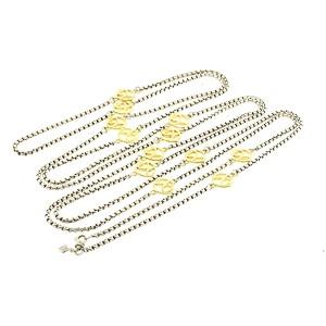 David Yurman 18K Yellow Gold, Sterling Silver Necklace