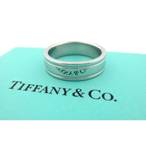 Tiffany & Co. Wedding Ring Platinum Size 8