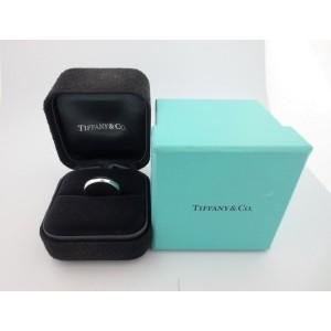 Tiffany & Co. Lucida Wedding Eternity Band Platinum Ring Size 9.5