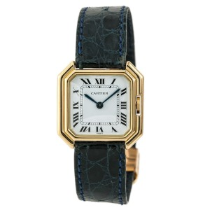 Cartier Paris Sextavado 78099 27mm Womens Watch