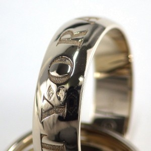 Cartier Trinity Ring 18K White Gold Size 6