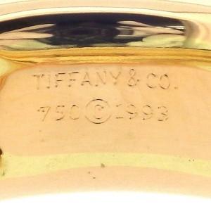 Tiffany & Co. 18K Rose Gold Diamond Ring Size 5.75
