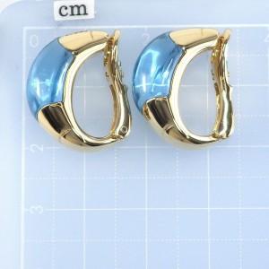 Bvlgari 18K Yellow Gold Topaz Earrings