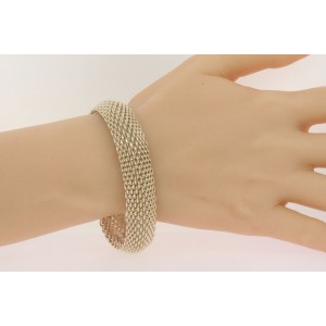 a1999d7d9 Tiffany & Co. Somerset Mesh Bracelet 7.5