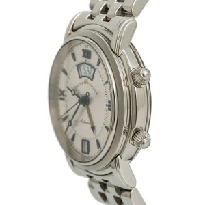 Maurice Lacroix Masterpiece ML 20779-1125 Mens Automatic Watch Stainless 38mm