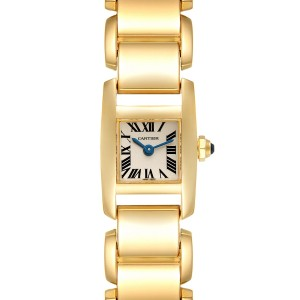 Cartier Tankissime Small Yellow Gold Ladies Watch W650048H