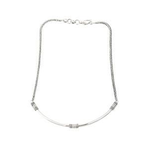 Vintage 925 Sterling Silver Necklace