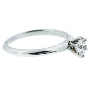 Tiffany & Co. Platinum Round Diamond Engagement Ring