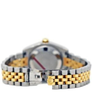 Rolex Datejust 31mm 178273 Women's Black Index Yellow Gold 31mm 1 Year Warranty