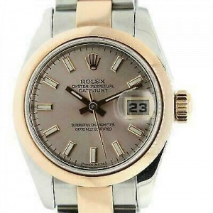 Rolex Datejust 26mm 179161 Women's White Gold 26mm Automatic 1 Year Warranty