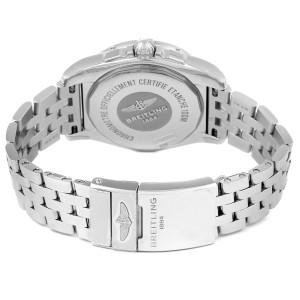 Breitling Galactic 36 MOP Diamond Steel Ladies Watch A37330