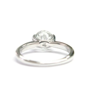 Ritani SOLID 18Kt NATURAL Round Diamond Solitaire Engagement Ring 1.77CT G-SI2