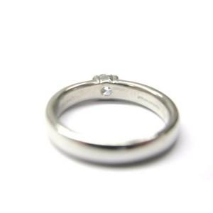 Tiffany & Co Platinum Etoile Diamond Solitaire Engagement Ring 0.44CT