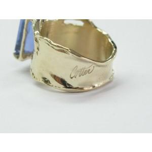Fine Gem Tanzanite Yellow Gold Anniversary Solitaire Ring 5.43Ct