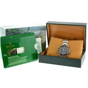 Rolex 16610 Submariner Stainless Steel Black Dial Automatic Men's Watch