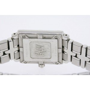 Raymond Weil Parsifal Watch Ladies MOP Pearl Diamond Dial Rectangle SS 9631