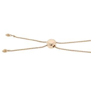 14k Rose Gold Diamond LOVE Bracelet