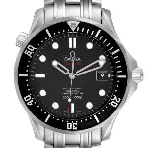 Omega Seamaster Black Dial Steel Mens Watch 212.30.41.20.01.002