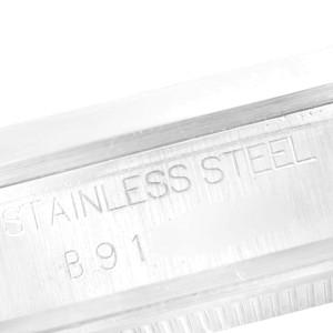 Tudor Prince Date Black Dial Steel Midsize Steel Mens Watch 72000