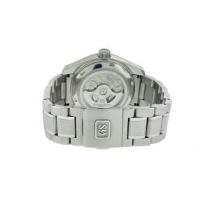 Seiko Grand Seiko GMT SBGJ 203 Black Dial 40mm Watch