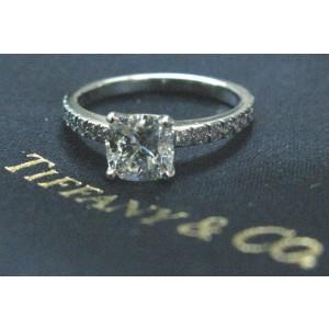 Tiffany & Co Platinum Novo Diamond Engagement Ring H-VVS2 1.16CT