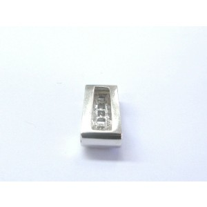 Fine Multi Shape Diamond White Gold Jewelry Pendant 14Kt .48Ct