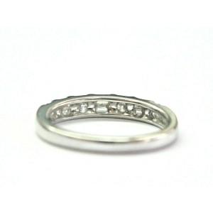 Multi Shape Diamond Ring Platinum 950 .50Ct 3.5mm SIZEABLE