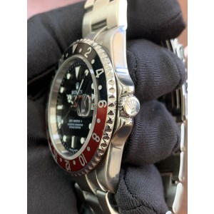 Rolex 16710 GMT Master II Coke Error Dial Stainless Steel Automatic Watch