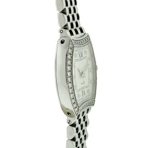 Bedat & Co No 3 Diamond Bezel and Dial Stainless Steel Ladies Watch