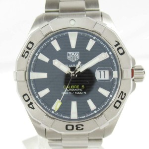 TAG HEUER Stainless steel/Stainless steel Aquaracer watch RCB-49