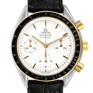 Omega Speedmaster Steel Yellow Gold Chronograph Mens Watch 3310.20.00