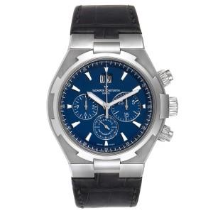 Vacheron Constantin Overseas Chronograph Blue Dial Watch 49150