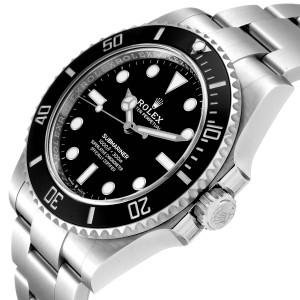 Rolex Submariner Non-Date Ceramic Bezel Steel Watch 124060