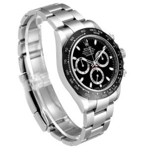 Rolex Cosmograph Daytona Ceramic Bezel Black Dial Mens Watch 116500