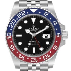 Rolex GMT Master II Pepsi Bezel Jubilee Steel Watch 126710