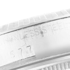 Rolex Datejust Silver Dial Vintage Steel Mens Watch 16030