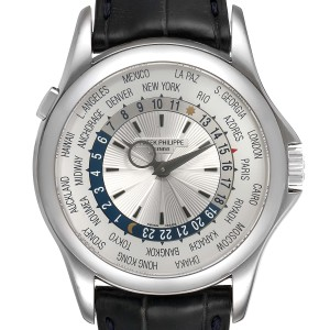 Patek Philippe World Time Complications White Gold Watch 5130